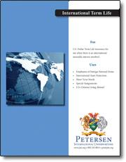 Term Life Brochure Image