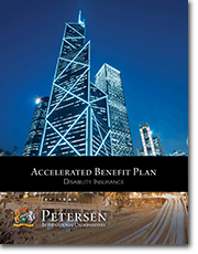 Personal Disability Insurance Brochure - Accelerated Benefit Plan