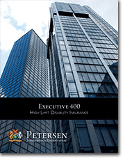Personal Disability Insurance Brochure - Executive 400