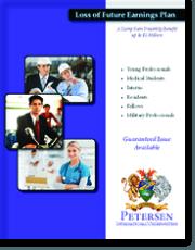 Personal Disability Insurance Brochure - Loss of Future Earnings