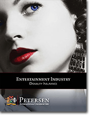 Personal Disability Insurance Brochure - Entertainment Industry
