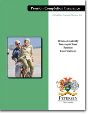Personal Disability Insurance Brochure - Pension Completion