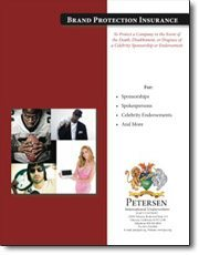 Contingent Insurance Brochure - Brand Protection