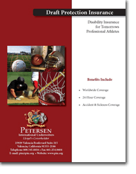 Student Athlete Disability Insurance Brochure - Draft Protection