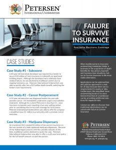 Failure to Survive Case Studies
