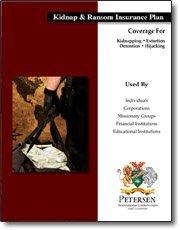 Contingent Insurance Brochure - Kidnap & Ransom