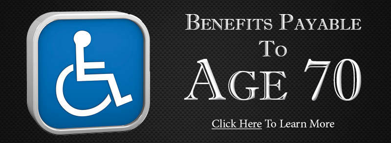 Personal Disability Insurance Plan - Benefits Payable to Age 70