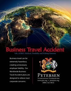 Business Travel Accident – Map
