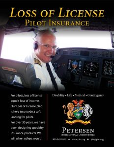 Loss of License – Pilot