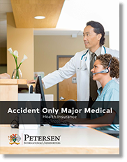Accident Only Major Medical Health Insurance
